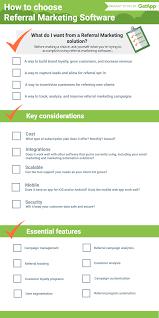 choosing referral marketing software a handy cheat sheet getapp