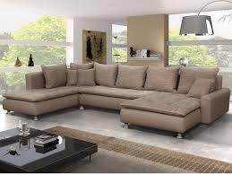 promo canape angle canapé d angle en tissu et simili elegato salons