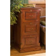 Three Drawer Wood File Cabinet by La Roque Mahogany Three Drawer Filing Cabinet Wooden Furniture Store