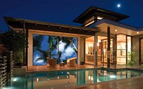 15 outdoor home theater with polls design