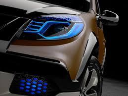 renault sandero 2017 interior renault sandero stepway led headlights car lights pinterest