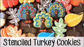 turkey sugar cookies how to make a decorated turkey sugar cookies