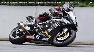 bmw bike 1000rr video michael dunlop sets new isle of man tt record on bmw s 1000 rr