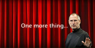One More Thing Meme - watchmaker swatch has patented the legendary phrase of steve jobs