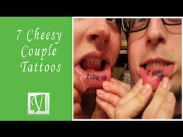 8 cheesy couple tattoo that will leave you speechless youtube