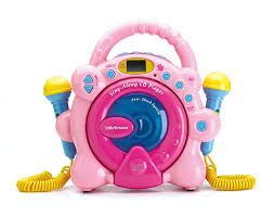 amazon com sing along cd player pink special limited edition