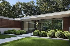 facades modern great design prefab house flat roof rhode island