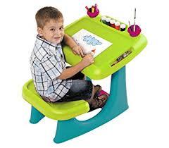 amazon com keter sit u0026 draw kids art table creativity desk with