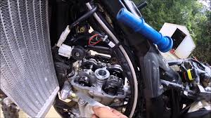ktm 350 exc f valve clearance check youtube