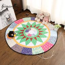 tapis ourson chambre b simanfei bande dessinée tapis animaux renard ours arbre tapis de