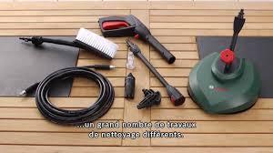 Remorque Casto by Nettoyeur Haute Pression Bosch Aqt 37 13 Youtube