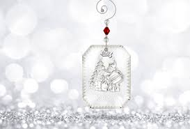 waterford 2017 twas the night before christmas ornament
