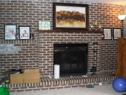 cheap fireplace makeovers u2014 jburgh homes easy brick fireplace