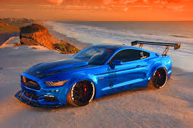 blue mustang stage 3 performance 2015 s550 ford mustang is supercharged juiced