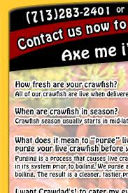 crawfish catering houston crawdad s houston cajun crawfish boil catering frequently asked