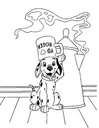 disney 101 dalmatians coloring pages coloring pages