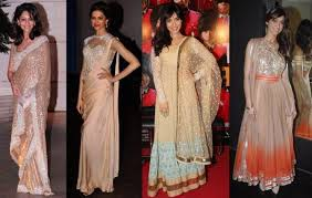 Reception Sarees For Indian Weddings Most Trendy And Stylish Colours For Guests To Wear This Wedding