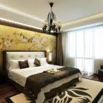 Asian Inspired Platform Beds - asian style bedroom platform bed pendant lights dma homes 71376