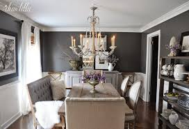 paint color ideas for dining room dear lillie kendall charcoal in our dining room