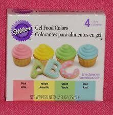 wilton food coloring for cake decorating ebay