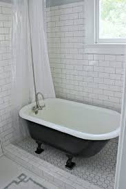clawfoot tub bathroom ideas awesome small clawfoot tubs for small bathrooms intended for your