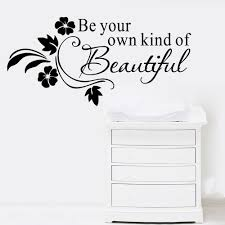 online get cheap beauty wall stickers quotes aliexpress diy