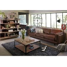 canapé cuir et bois rustique canape cuir et bois rustique les 25 meilleures idaces de la