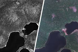 Radio In Russia During Cold War War Era Spy Satellite Images Reveal Possible Effects Of Climate Change