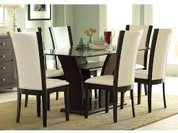 glass top dining table set 6 chairs glass top dining table sets internationalfranchise info