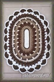 Crochet Bathroom Rug by Top 25 Best Crochet Rugs Ideas On Pinterest Crochet Rug
