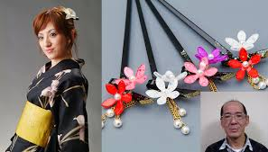 japanese hair pin internationally spreading traditional craft using affordable