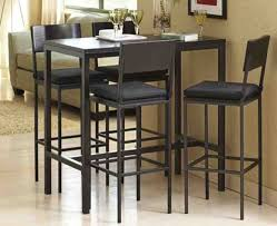 Amazing Of Tall Dining Room Tables Best  Bar Height Dining Table - High kitchen table with stools