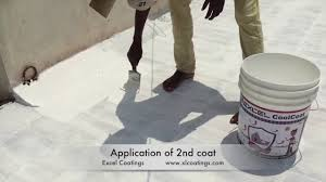 excel coolcoat heat reflective cool roof coating summer cool