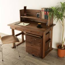 Desk With Computer Storage Nolsia Rakuten Global Market Learning Desk Walnut Learning