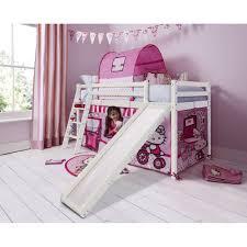 hello kitty cabin bed with slide u0026 tent noa u0026 nani