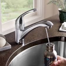 kitchen faucet with filter filter 1 handle kitchen faucet american standard