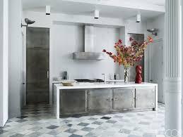 dark floor kitchen tags classy black and white kitchen superb