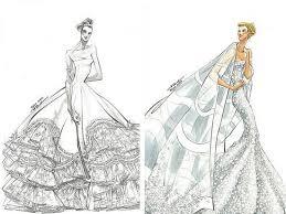 jennifer aniston u0027s reem acra wedding dress sketches azealia banks