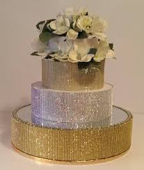 bling cake stand gold bling cake stand 18 cake stand with a mirrored top