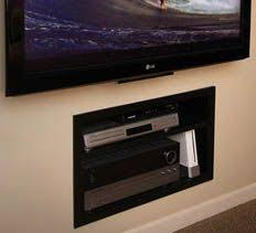 In Wall Shelves by 18 Chic And Modern Tv Wall Mount Ideas For Living Room Mounted