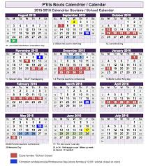 2015 2016 school calendar