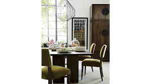 crate and barrel marble dining table amazing basque java 82 dining table basque crates and barrels