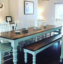 Bench Dining Room Table Set Best 25 Farmhouse Table Ideas On Pinterest Diy Farmhouse Table