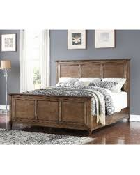 Oak Bed Don U0027t Miss This Bargain Abbyson Cypress Rustic Oak Bed