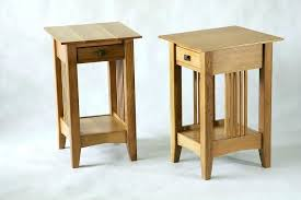 very small coffee table side tables small side table with shelf narrow side table with