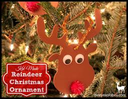 easy kid made diy reindeer ornament the of