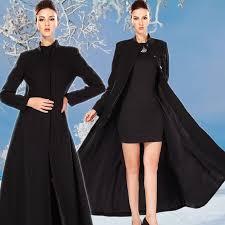 Womens Winter Coats Plus Size European Winter Casaco Feminino Longo Women Long Wool Swing Coat