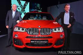 bmw car price in malaysia bmw x4 launched in malaysia xdrive28i rm439k