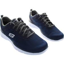 skechers u0027s pilot boots men trainers deal maker men u0027s navy grey