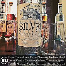 high class whiskey high west silver whiskey western oat review the whiskey jug